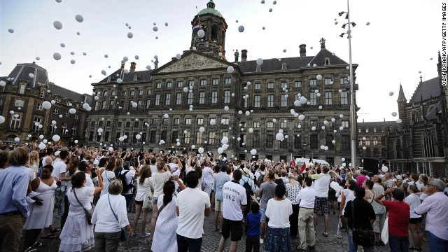 The Netherlands honors MH17 victims