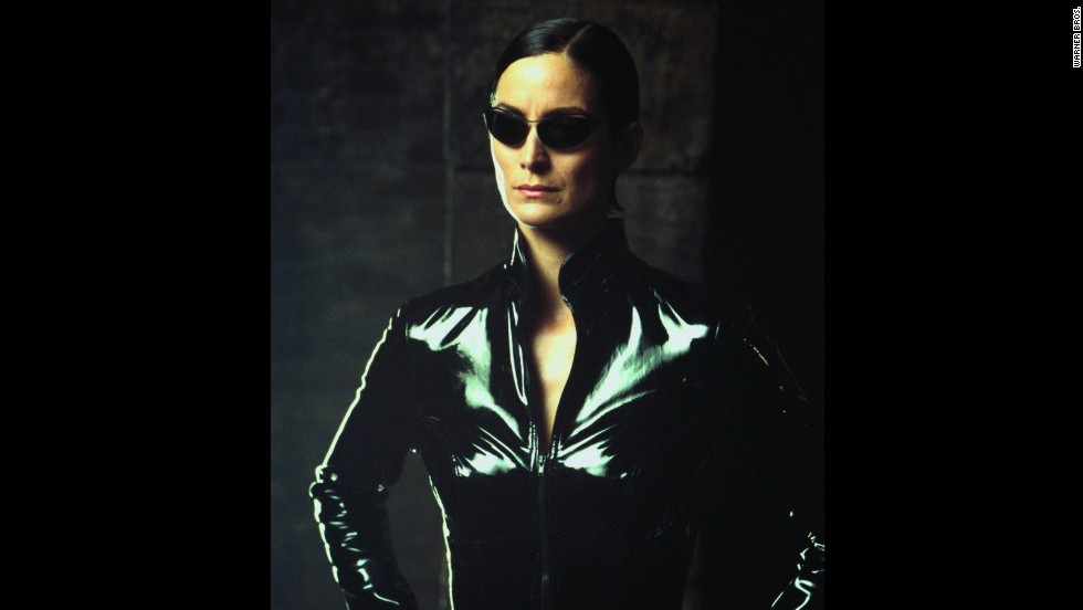 "Carrie-Anne Moss' Trinity was the first main character we saw in the ""Matrix"" and immediately, we were hooked."