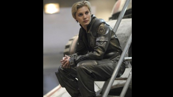 "They switched genders on us with this character in the 2000s reboot, and casting Katee Sackhoff as Starbuck  in ""Battlestar Galactica"" was a stroke of genius."