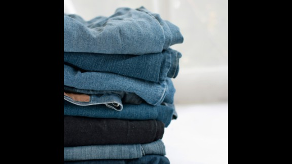 Jeans: Every four to five wears
