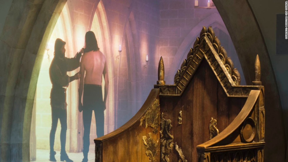 Displays recreate scenes from King Richard III's life and death and explain how his long-lost grave was unearthed. Visitor center director Iain Gordon is expecting tourists from around the world -- including the U.S., Canada and Australia.