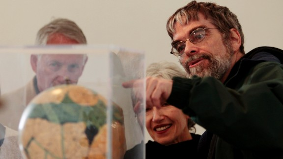 Brother Guy Consolmagno, a Jesuit astronomer at the Vatican