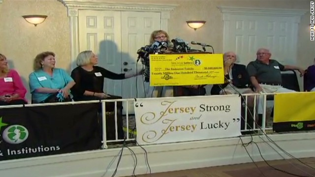 Family of 17 to share lottery jackpot
