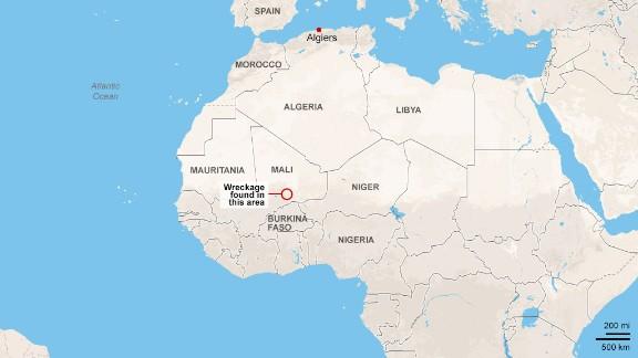 Air Algerie: Wreckage found in Gossi region