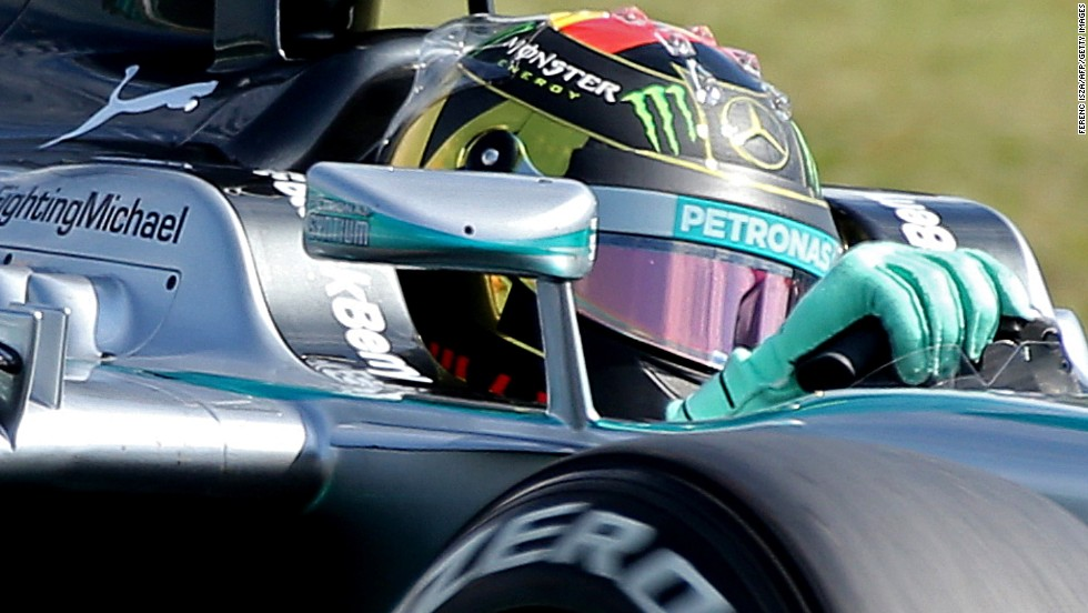 Round 10: Hamilton hangs tough in Hungary, choosing to ignore advice from his team to allow Rosberg to pass. The Briton finished the race in third, with his Mercedes teammate in fourth.