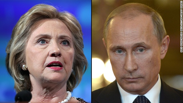 Clinton: Putin partly to blame for MH17