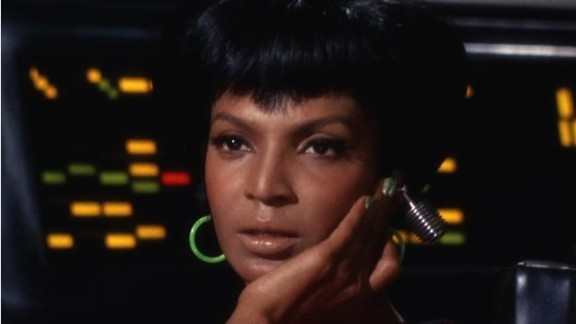 Nichelle Nichols played Star Trek's glamorous communications officer, Lt. Uhura, over a 25-year span -- beginning with the original TV series in 1966, and most recently the 1991 feature film.