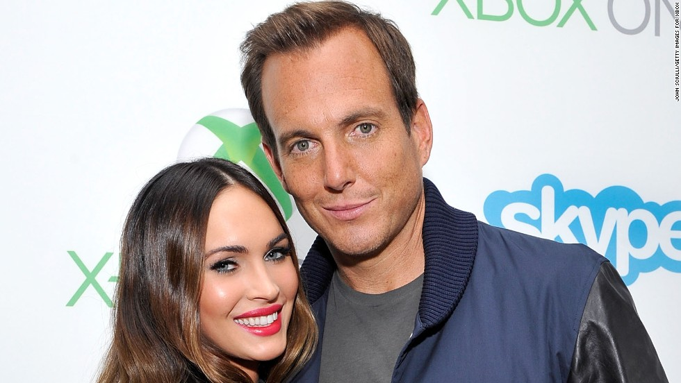 Megan Fox and Will Arnett take a break from Comic-Con at The Hard Rock Hotel San Diego on July 24.