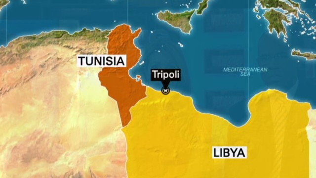 U.S. evacuates embassy in Tripoli