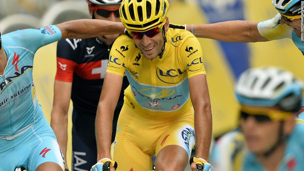 Nibali -- here congratulated by his teammates after completing his victory in Paris -- has brought Astana kudos since joining in 2013..