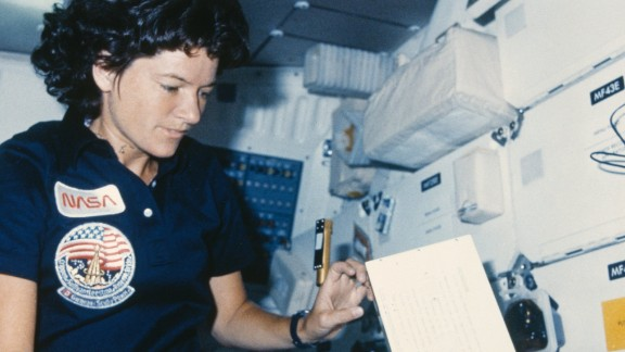 In 1983 Sally Ride became the first American woman in space. And while many more women have worked at NASA since then, Dr Stofan says there