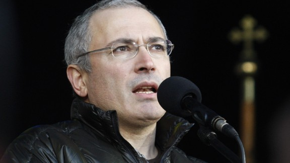 Business magnate Mikhail Khodorkovsky supported an opposition party and accused Putin of corruption. He spent more than 10 years behind bars, accused of tax evasion and fraud.