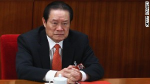 China: Zhou Yongkang charged with bribery, abuse of power, leaking secrets
