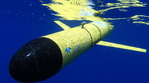 The Slocum Glider from WHOI, one of the longest-serving undersea drones.