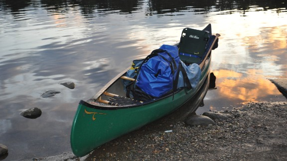 Neal Moore spent five months paddling the Mississippi River, from Minnesota to New Orleans. He filed iReports about his trip along the way and eventually turned his experiences into a book.