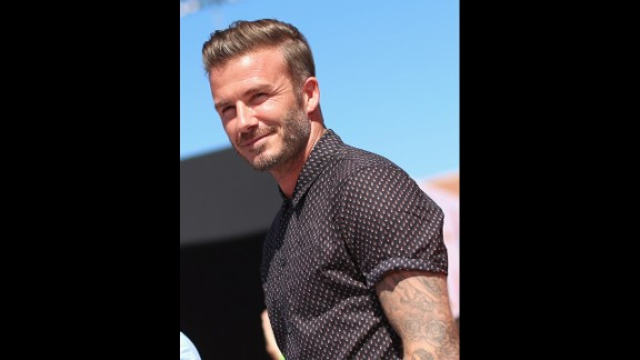 The soccer legend and fashion icon David Beckham has tattoos on both arms, his chest and legs. He has even picked up new art in recent years.
