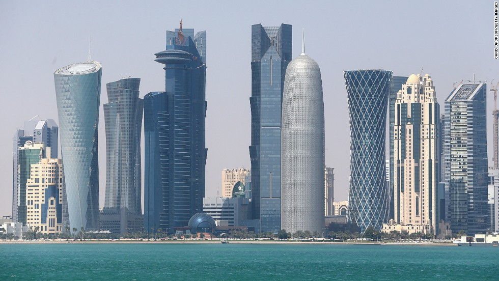 Small but wealthy, Qatar has the money to invest in its financial center and zero income tax has attracted many.