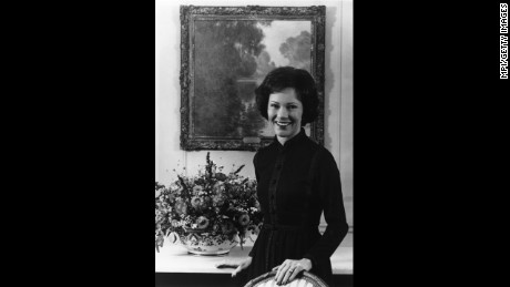Rosalynn Smith Carter circa 1970. She grew up alongside the future president in Plains, Georgia.