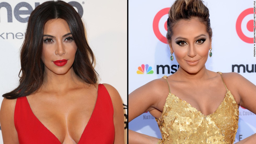 "Kim Kardashian didn't mention actress Adrienne Bailon by name when she went on a Twitter rant last July, but it was pretty obvious whom she was speaking of. Bailon, who used to date Kim's brother Rob, spoke ill of the past relationship in a magazine interview. Kim then tweeted, ""Funny how she says being with a Kardashian hurt her career yet the only reason she has this article is bc she is talking about a Kardashian ... So sad when people try to kick my brother when he is down #FamilyForever."""