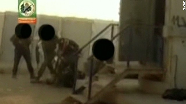 Hamas films deadly tunnel attack