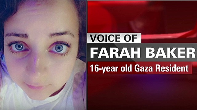 16-year-old describes life in Gaza
