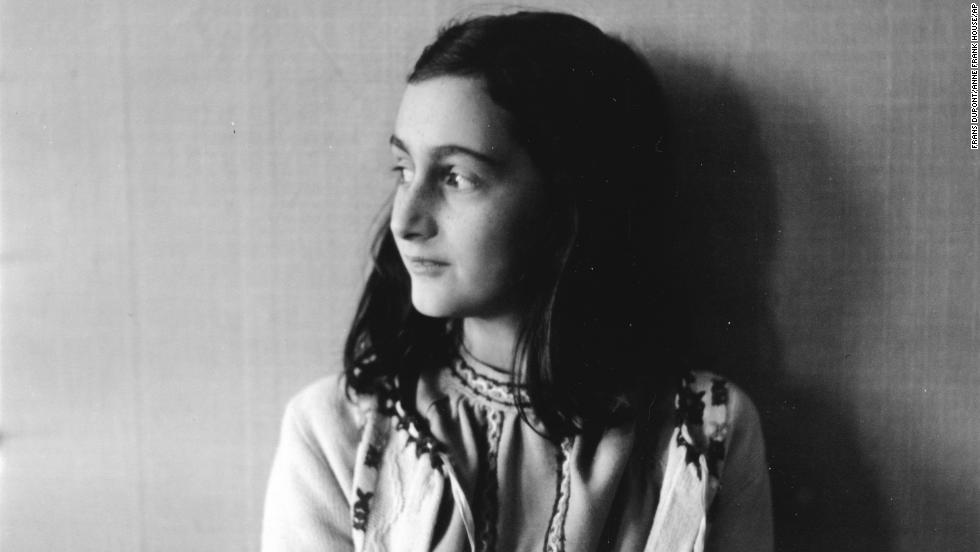Anne Frank in 1941. Her diary is often many young people's introduction to the horrors of the Holocaust.