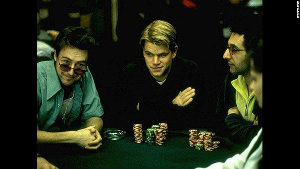 "<strong>""Rounders"" (1998):</strong> The poker stakes are high in this movie about a law student who befriends a fellow gambling addict and a club owner. <strong>(Netflix and Amazon) </strong>"