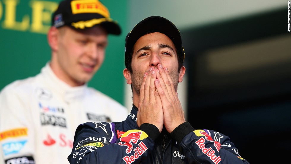 He made a dream start to his Red Bull career as he crossed the line in second place at his home race in Australia, only to see his result scrapped because of a fuel-flow problem with the car.