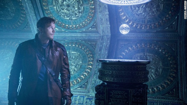 """Guardians of the Galaxy"" stars Chris Pratt as Peter Quill, or ""Star-Lord."""
