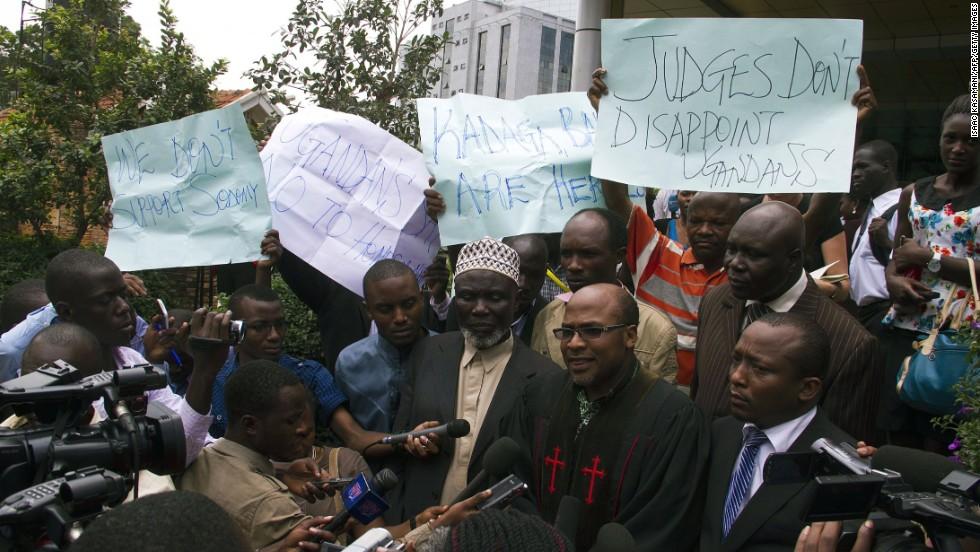 Ugandan parliament anti-homosexuality