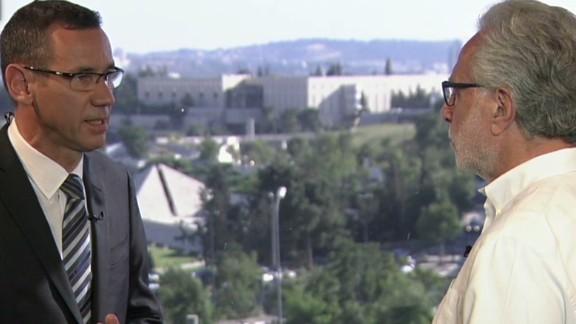 gps intv israeli spokesman hamas cease fire conditions _00005622.jpg