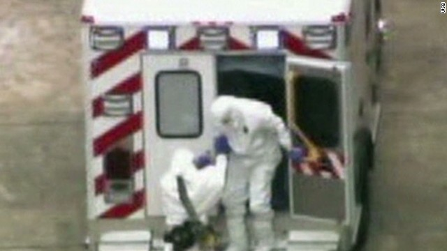 Timeline of Ebola patient's U.S. return