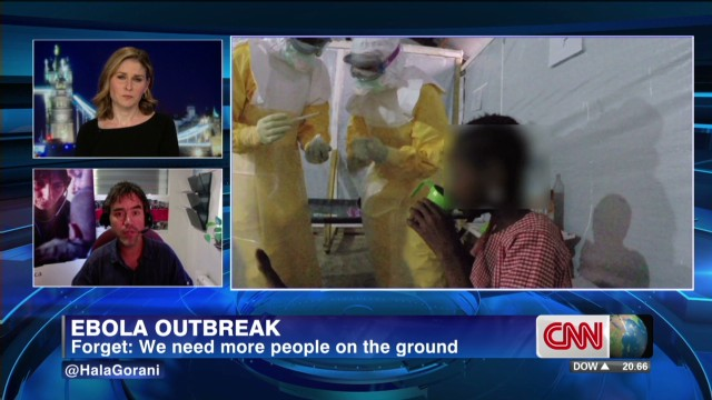 Doctors struggle to treat Ebola patients