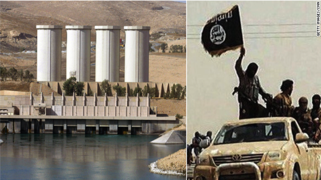 ISIS claims a dam in northern Iraq