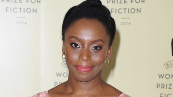 Chimamanda Ngozi Adichie is one of the Authors shortlisted for the 2014 Baileys Women's Prize For Fiction, pictured at the winner announcement at the Royal Festival Hall on June 4, 2014 in London, England. (Photo by Stuart C. Wilson/Getty Images for Baileys/Diageo