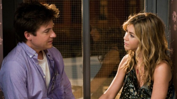 """<strong>No. 3: </strong>Jennifer Aniston, here with Jason Bateman in """"The Switch,"""" <a href=""""http://www.huffingtonpost.com/2013/08/07/jennifer-aniston-box-office-poison_n_3720897.html"""" target=""""_blank"""" target=""""_blank"""">may not be associated with strong showings</a> at the box office, but she's the third highest-earning actress this year. When you combine comedies such as """"We're the Millers"""" with lucrative spokeswoman deals and """"Friends"""" residuals, Aniston pulled in $31 million in the past year."""