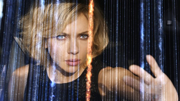 """<strong>No. 6: </strong>Scarlett Johansson is proving herself to be a force at the box office, recently landing at No. 1 with the action flick """"Lucy,"""" pictured. Her work in the Marvel movies as Black Widow and endorsement deals also helped her secure a debut spot on Forbes' list of highest-earning actresses. The magazine estimates Johansson made about $17 million in the past year."""