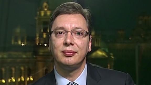 intv amanpour fred pleitgen serbia prime minister Aleksandar Vucic air_00075123.jpg