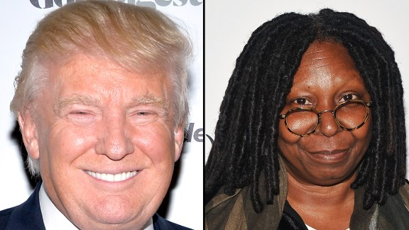 "Last August, Donald Trump protested via Twitter about two American Ebola patients returning to the United States. Whoopi Goldberg responded on her show that while Trump is her friend, ""that was a stupid comment. Do your homework, Donald. Just do your homework."""