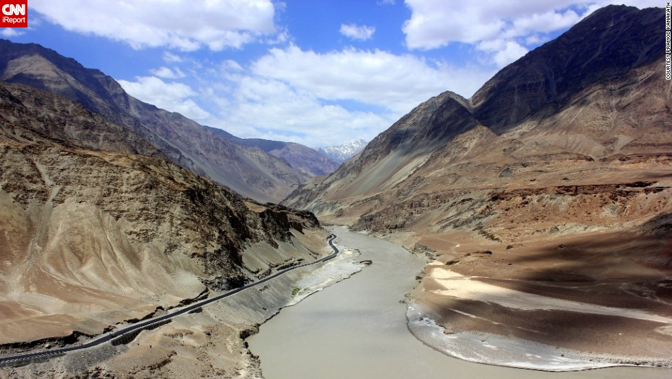 "During a trip to India, the confluence of the Indus and Zanskar rivers stood out as a highlight for <a href=""http://ireport.cnn.com/docs/DOC-1154049"">Pramod Kanakath</a>. He described the scene as breathtaking. ""It was nothing but viewing the Himalayas and breathing fresh air and standing at a site where a civilization took shape."""