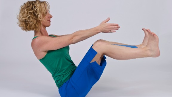 If your sciatica is lumbar-spine related, this pose can help by strengthening deep core muscles to stabilize your low back.