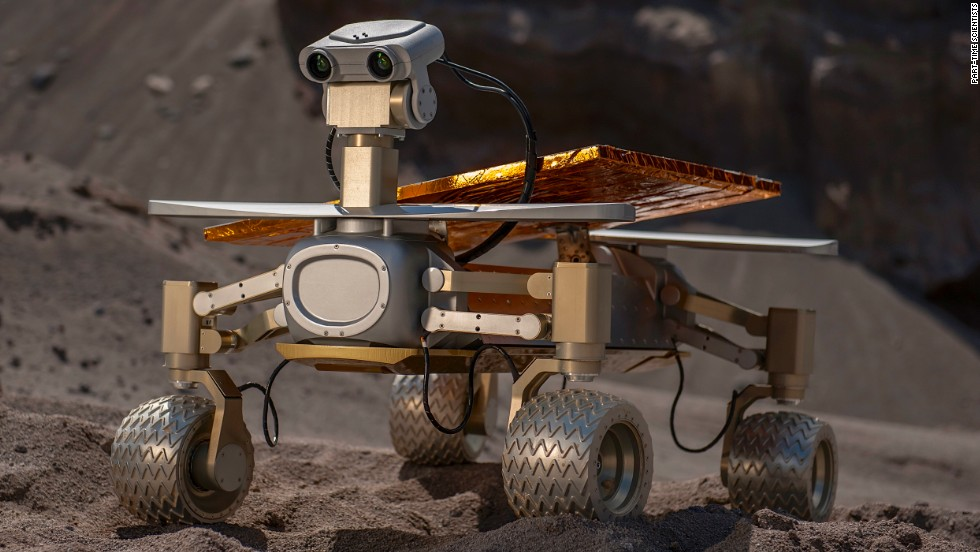 "Germany-based team ""Part Time Scientists"" is building a rover lovingly nicknamed ""Asimov"" after sci-fi author Isaac Asimov. Brought together by a passion for all things space-related, the members come from a variety of vocations and have been teaching themselves how to build their robot from open-source schematics online. Team co-founder Michael Mussler explained their ""Foundation"" mission to CNN: ""We want to take people with us. ""Foundation"" means to do something, build a technology that can be used in the future by everyone. Companies go, people can go, citizen scientists can go to space."""