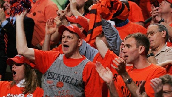 Pennsylvania is well-represented on the list, with Bucknell University coming in at No. 9.
