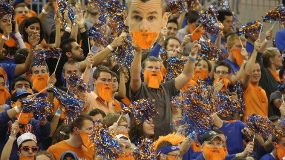 The University of Florida caps the top 10. Must be all the sun.