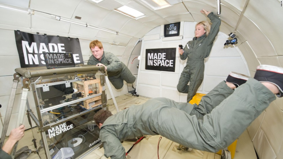 First 3 D Printer In Space