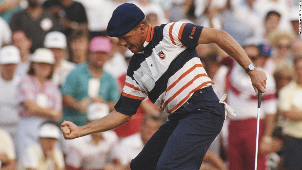 "How about that?<br /><br />Stewart sinks the putt that wins the 1989 U.S. PGA Championship at Kemper Lakes in Illinois, the first of his major titles..<br /><br />""This is a great moment in the career of one of golf's most colorful stars,"" says Cannon of the snap.<br /><br /><a href=""http://edition.cnn.com/video/data/2.0/video/sports/2012/02/06/living-golf-photography-david-cannon.cnn.html"" target=""_blank"">See David Cannon give a photography lesson to Living Golf's Shane O'Donoghue.</a>"