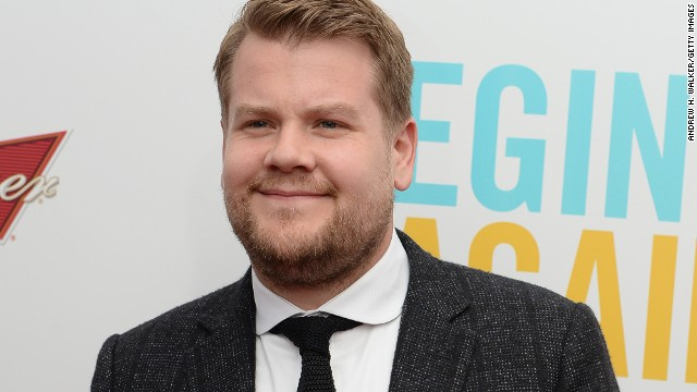 "James Corden is taking over ""The Late Late Show"" from Craig Ferguson."