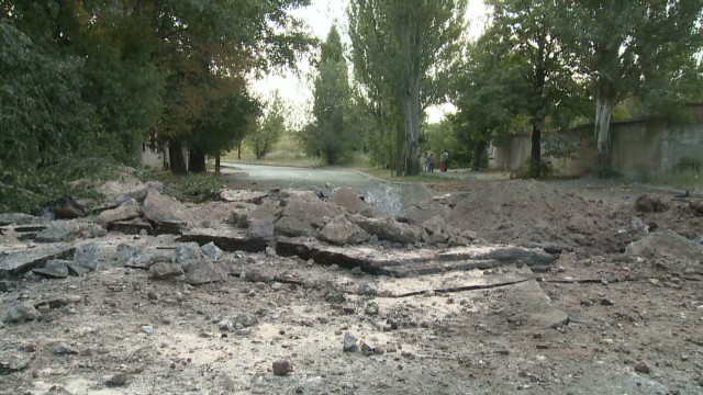 Violence on the rise in Donetsk