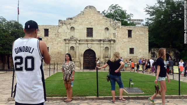 The Alamo is part of the San Antonio Missions system, which was approved as a UNESCO World Heritage site.