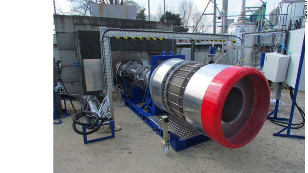 Pre-cooler for the SABRE engine at Reaction Engines' UK site.